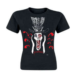 Possessed Scream Head Alien Sex Fiend Girls T-shirt